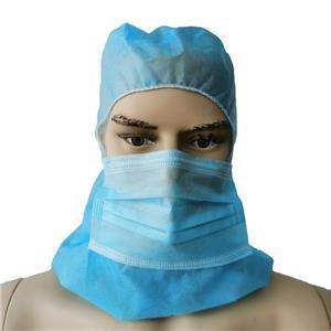 Xiantao Factory Exporter Vlies Gesichtsmaske Mütze Hut Sturmhaube Einweg-Raumkappe