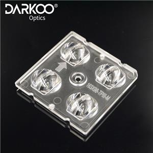3030 5050 4 en 1 lentille de réverbère Zhaga et optiques d'éclairage