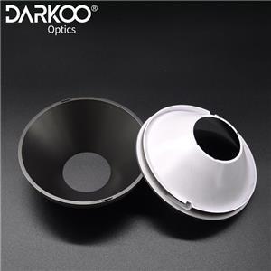 CXA1507 110 mm 60 grados Color negro Reflector de luz descendente Anillo reflector LED de plástico