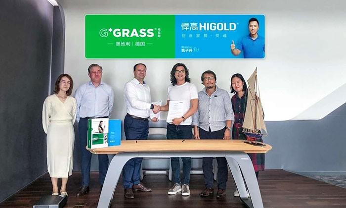 Higold становится генеральным агентом GRASS в Китае