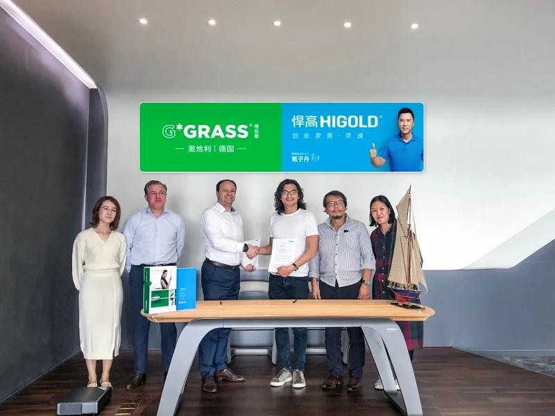 Higold wordt de algemene agent van GRASS in China