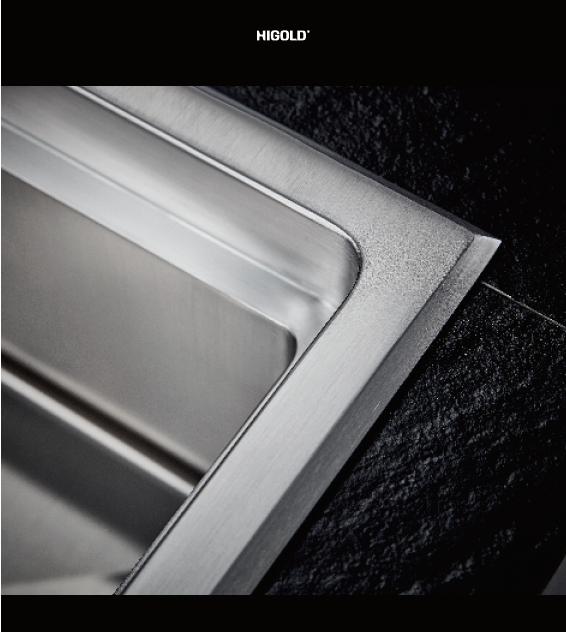 stainless steel handmade sink