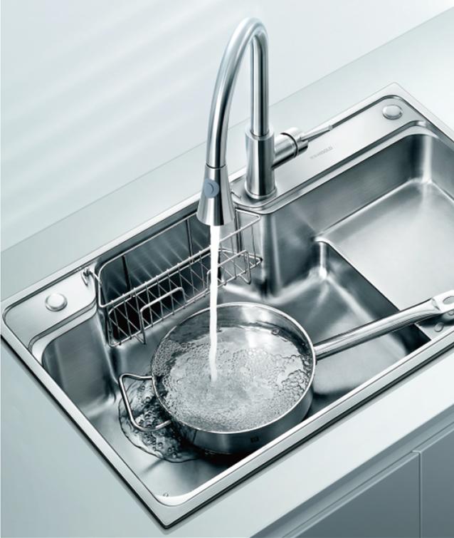 stainless steel Pressed sink