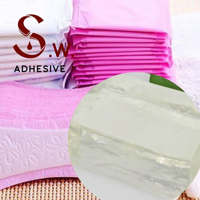 Comfortability is the most important factor for feminine sanitary products. Beside the traditional PE film, non- woven fabric, there are still a lot of developments and applications of many innovative substrates. Therefore, napkins need to be effectively fixed on underwear without migrating, without residuals. Moreover, nice bonding strength and comfortability are also musts. This makes glue selection very important. We offer you good bonding agents that effectively bond different types of substrates.