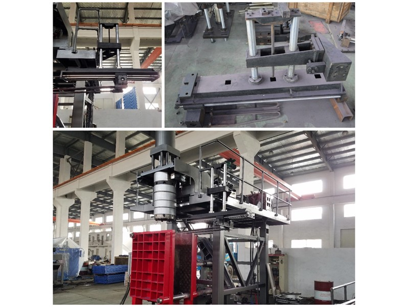 Second Hand Half-automatic Blow Molding Machine