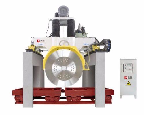 High Efficiency CNC Multi Blade Stone Cutting Machine