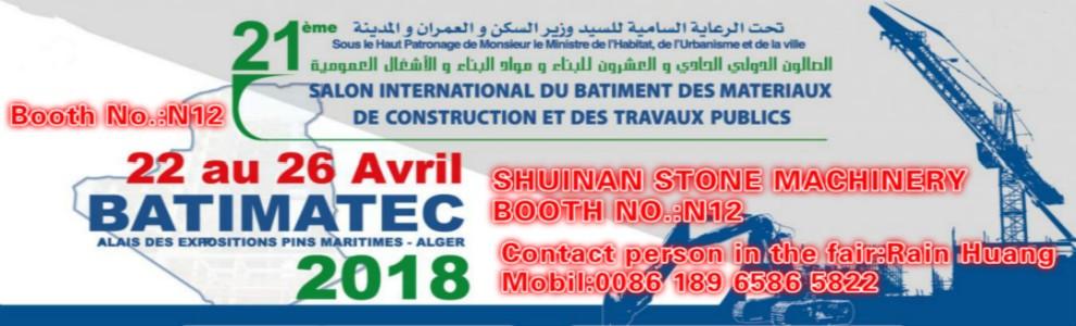 Algeria Fair in April