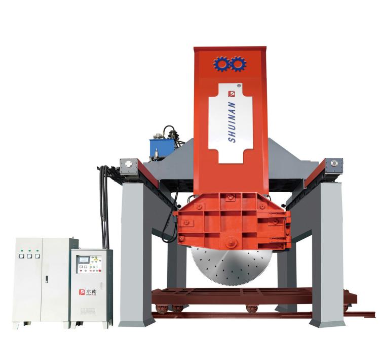 Multi Blade Stone Cutting Machine