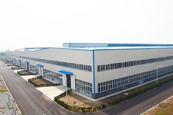 Office plant of Henan D.R. Construction Group Steel Structure Co., Ltd., factory appearance
