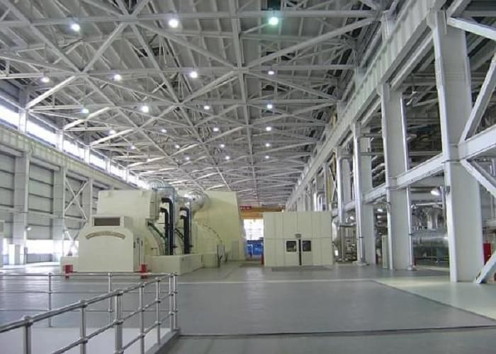 2*660MW Main Block Power Plant Steel Frame Construction Project