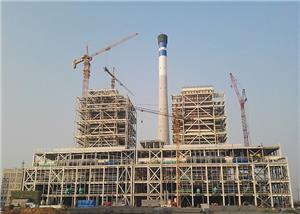 2*660MW Power Plant Workshop Heavy Steel Frame Construction Project