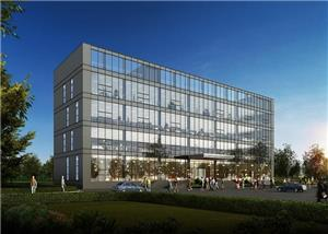 Modern Steel Structure Civil Office Building Project