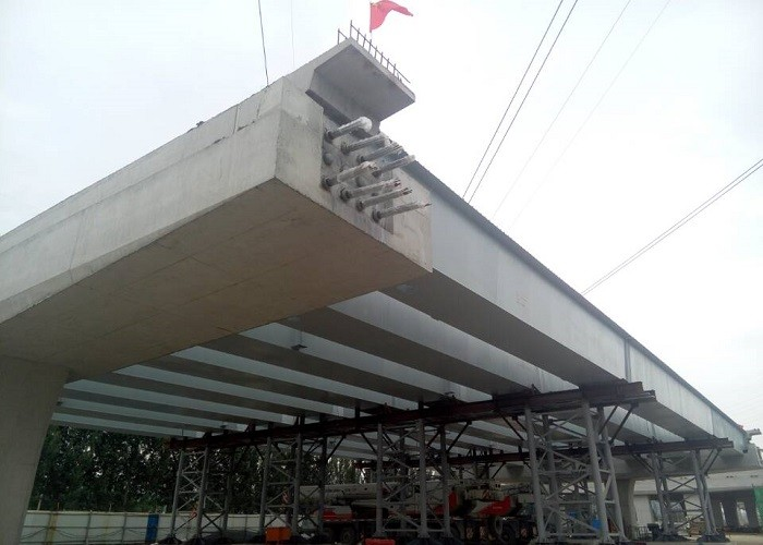 Auxiliary Road Steel Structure Bridge Express Project