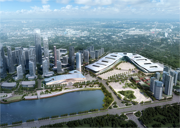 International Expo City Steel Framework Construction Project
