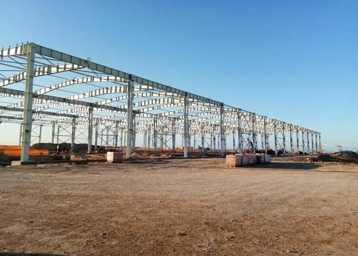 Auto Factory Steel Construction Architecture Project