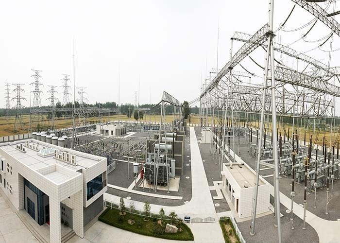 Industrial Steel Structure Design 500KV Substation Project