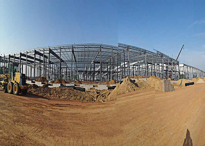 China Smart Logistic Network Steel Structure Architecture Project In Airport