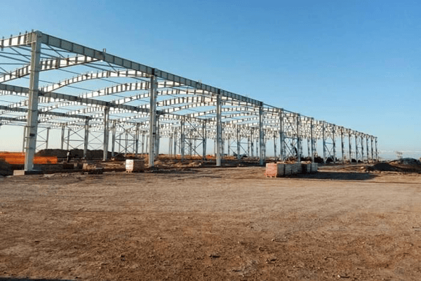 The steel structure factory building industry has formed a high-quality situation