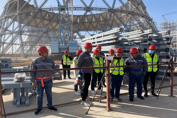 쌍위 발전소 엔지니어링 철골 구조 실 냉각탑 프로젝트