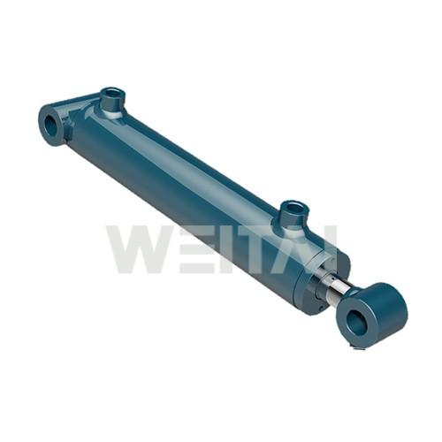 Cilindro hidráulico de tubo transversal soldado 2