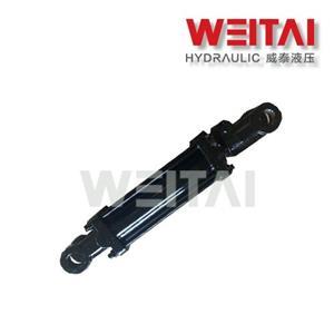 3000PSI Tie Rod Cilindro Hidráulico de Dupla Ação 3,5