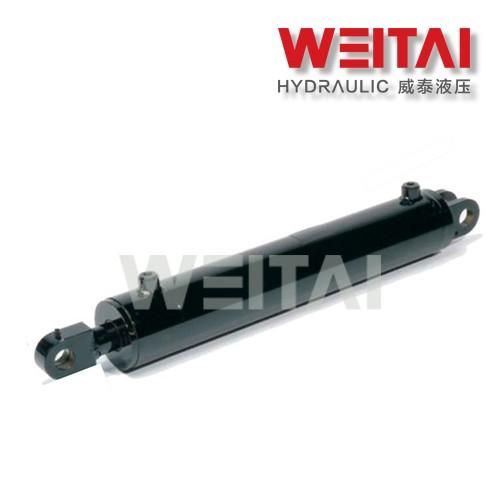 Cilindro hidráulico da manilha fêmea ajustável soldada 2,5