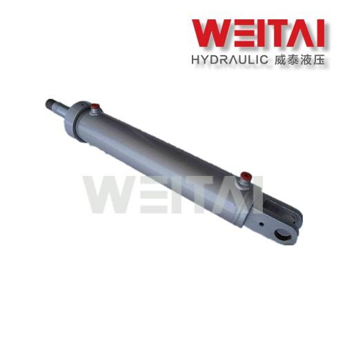 Cilindro Hidráulico com Orifício Soldado Através do Cilindro Hidráulico de 1,5