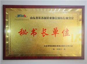 Secretária da Associação Hidráulica de Shandong