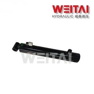 Cilindro hidráulico soldado com tubo cruzado de dupla ação 2