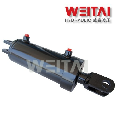 Comprar Cilindro hidráulico soldado da extremidade da manilha de ação Doube 1,5