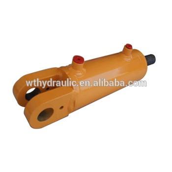 Cilindro hidráulico soldada con autógena con extremo de horquilla de acción doble 3000PSI 3 diámetro x 4-48 carrera