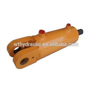 Cilindro hidráulico soldado da extremidade da manilha de dupla ação 3000PSI 5 furo x 4-48 curso
