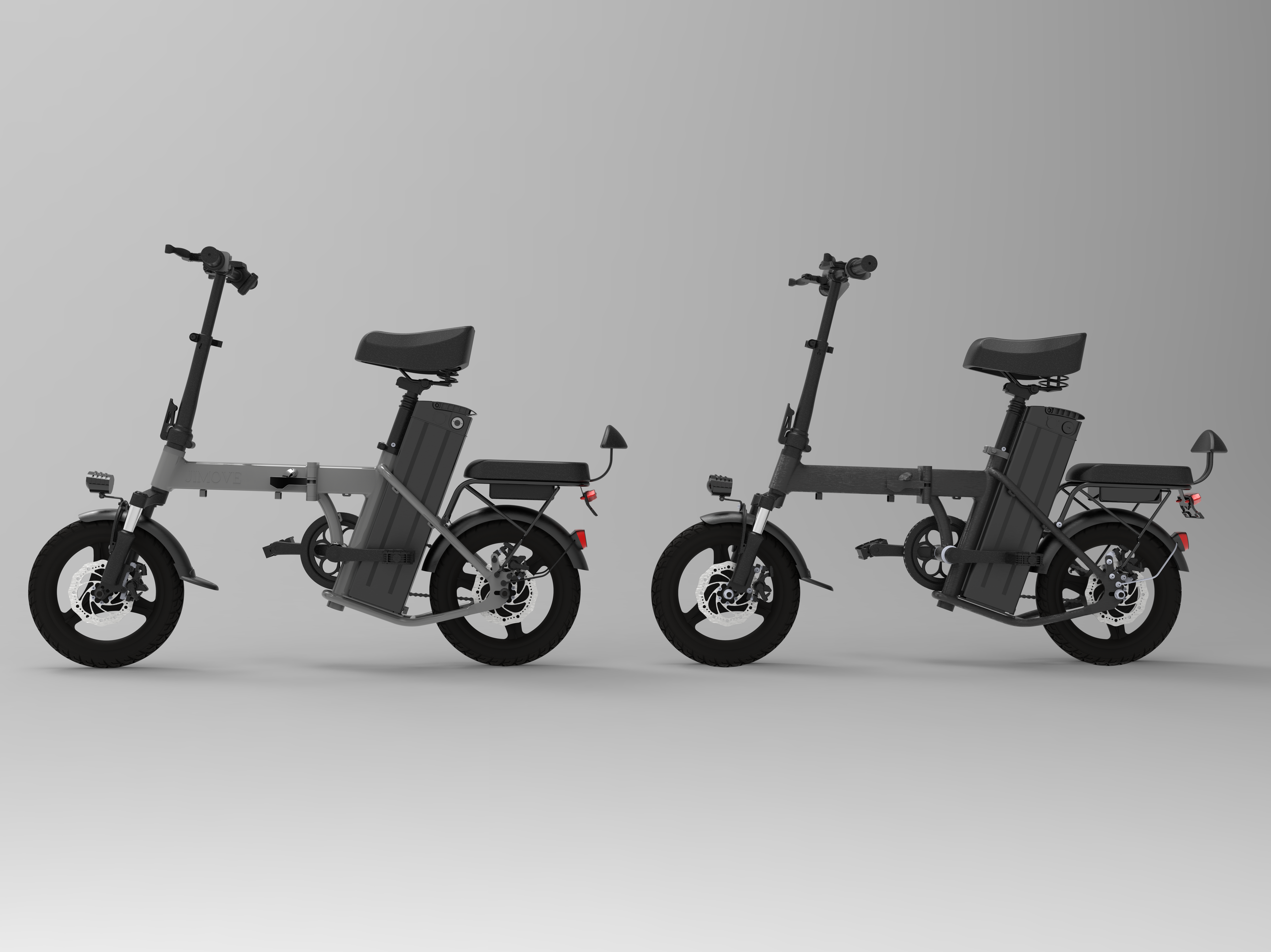 E Scooter with Two Seats
