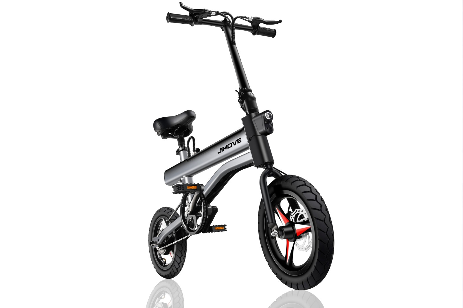 fat tire folding electric bicycle