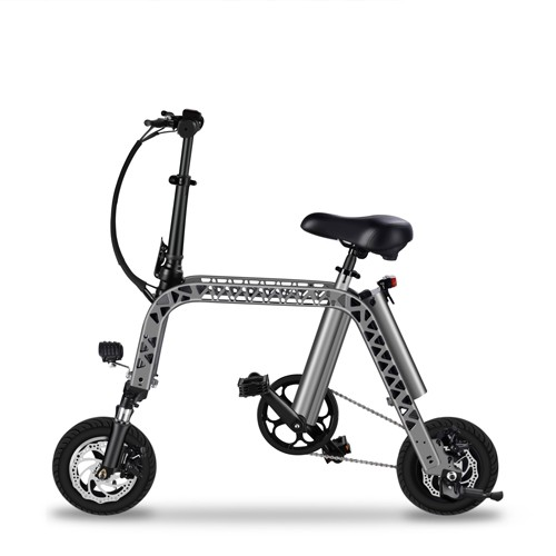 10 Inch Smart Mini Folding Electric Bike Battery Powered E-Bikes For Adults