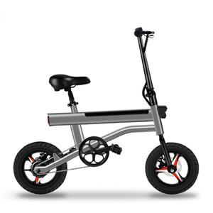 JI-MOVE En15194 Mini Foldable Bike 250w 9.9ah Fat Tire Folding Electric Bicycle