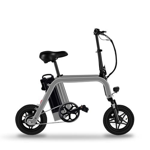 Folding Electric Bicycle With Pet Basket 12 Inch Electric Bike Parent Child E Bicycle City E Bike Aluminum Alloy Ebike