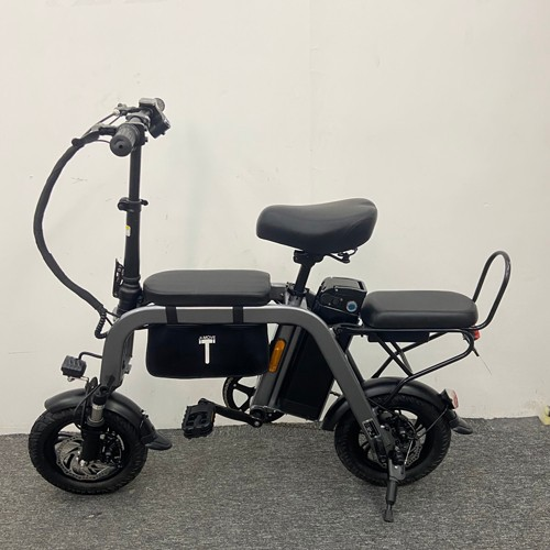 14 Inch 48v Parent-child Electric Bicycle Three Seats With 10Ah Lithium Battery And 350W Power Bicycle Can Be Electrically Assis