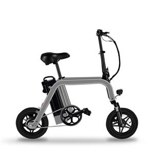 Hole Sale 12 Inch Motor 2 Wheel Electric Kick Scooter Rear Drive Portable Folding Electric Bike With Pedal Assist