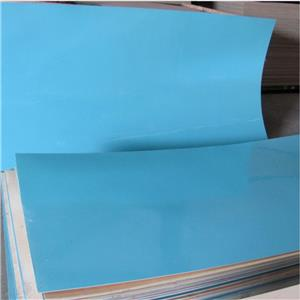 Blue Polyester plywood for decoration