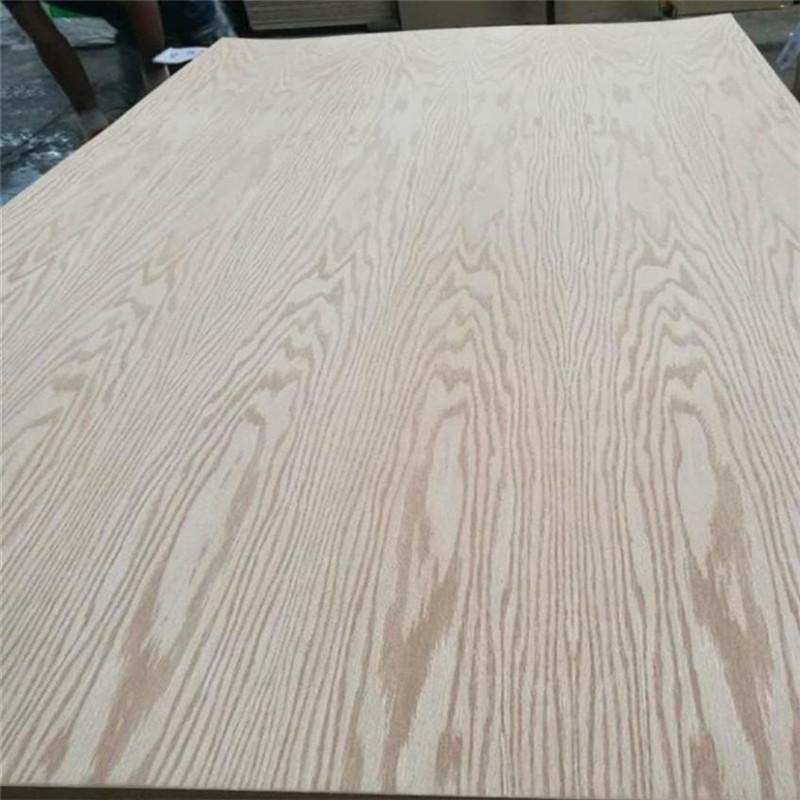 AA Grade Natural Red Oak Veneer Fancy Plywood