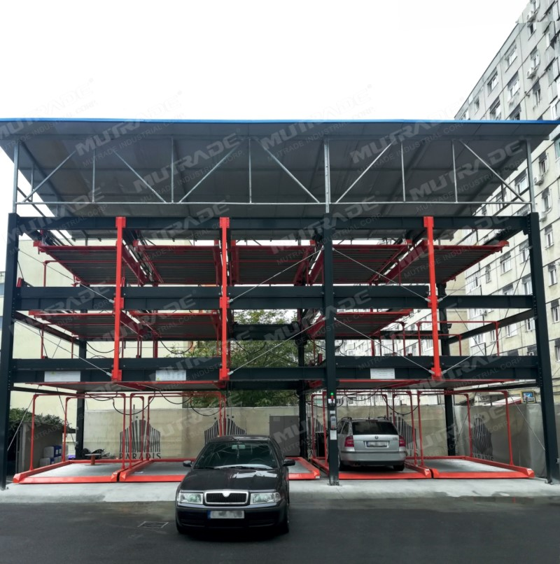 Mutrade Project for Hotel Parking in Romania