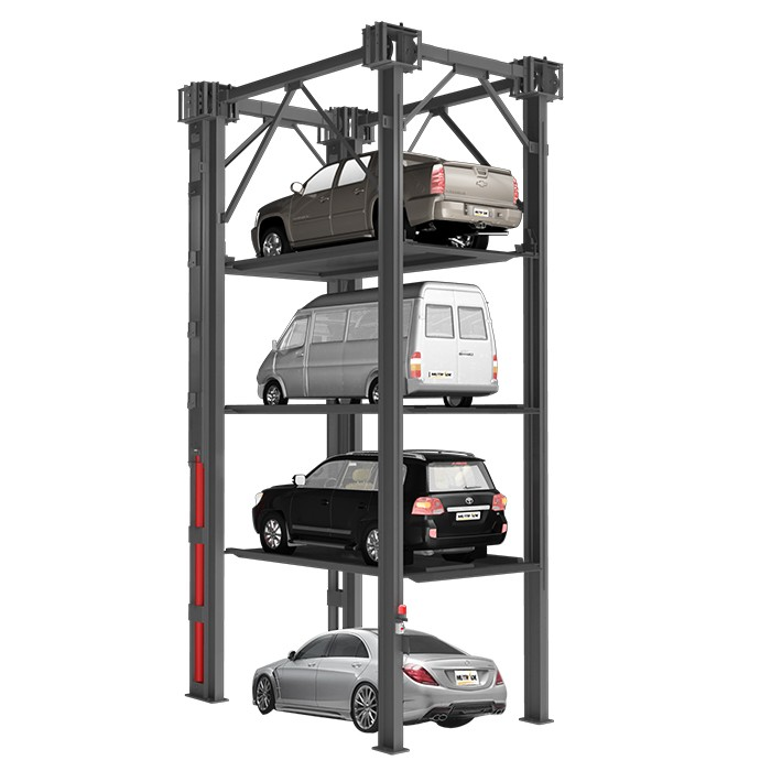 Simple Garage Vehicle Storage And Parking Lifts