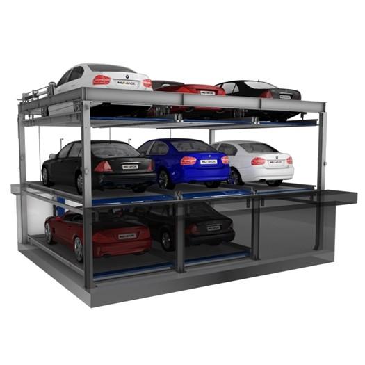 Lift And Slide Smart Car Parking System Solutions