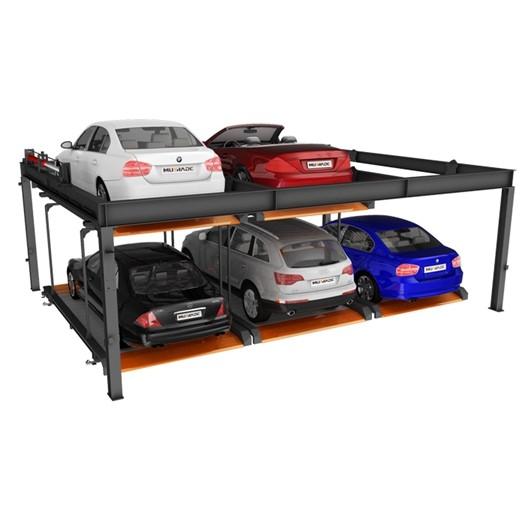 Hydraulic Semi Automatic Car Parking Equipment 2 Floors