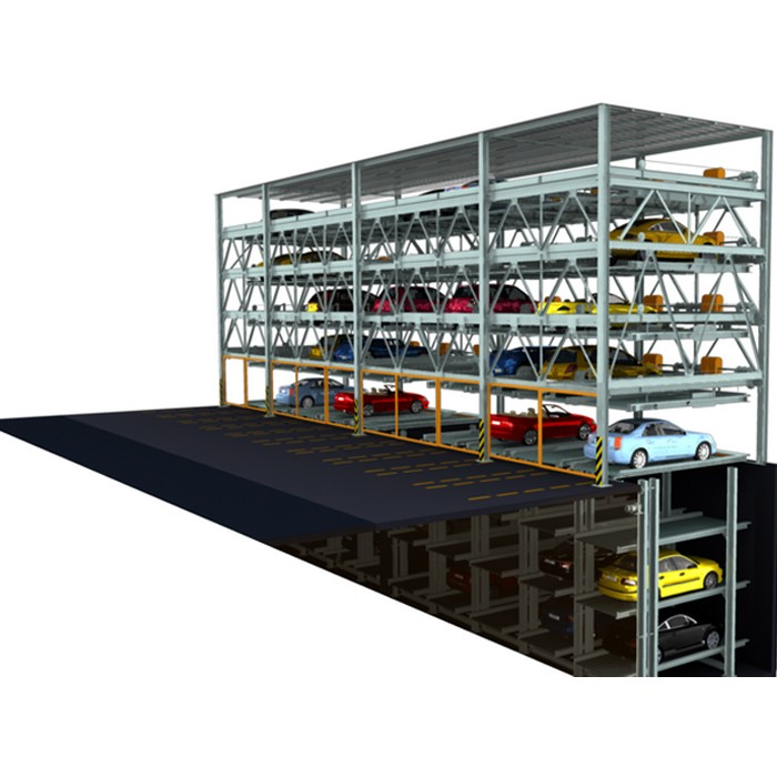 Automated Multilevel Pit Car Parking System