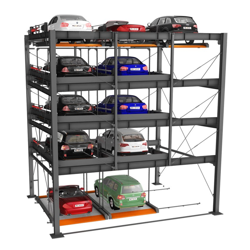 Multilevel Electric Automated Car Parking Systems