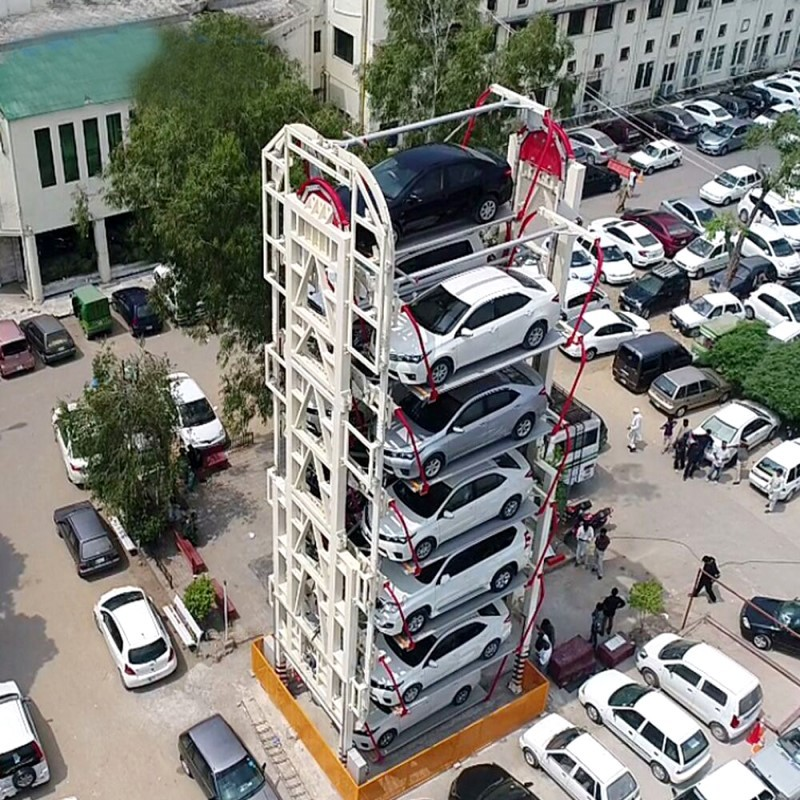 ROTARY PARKING SYSTEM: WHAT IS THIS? HOW DOES IT WORK?