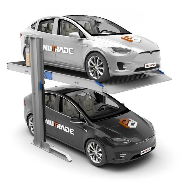 Système mécanique d'ascenseur de stationnement de voiture de garage empilé