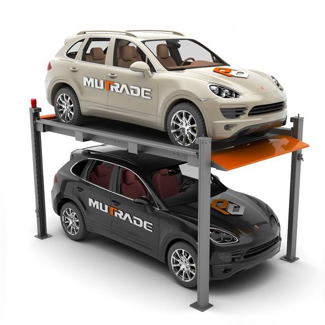 Automobile Storage Four Post Parking Lifts